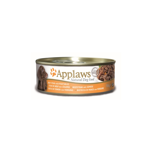Applaws Dog Food - Beef Steak with Vegetables