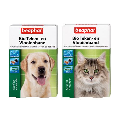 Beaphar Bio Teken- en Vlooienband