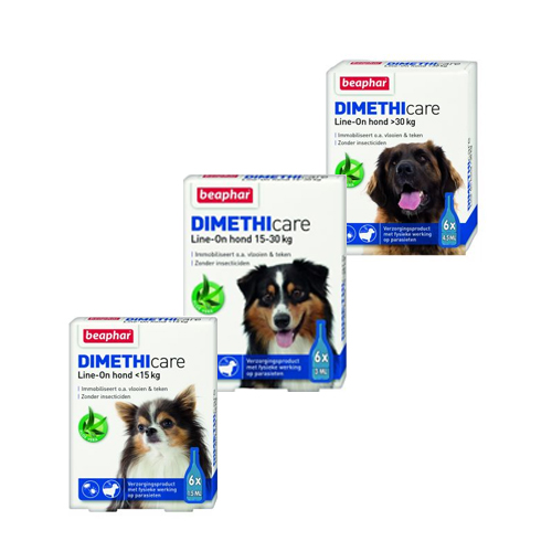 Beaphar DIMETHIcare Line-on Hond