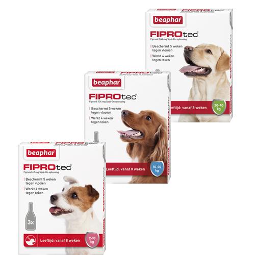 Beaphar FiproTec Spot-On für Hunde