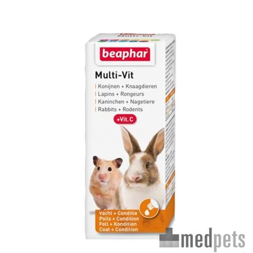 Produktbild von Beaphar Multi-Vit für Kaninchen und Nagetiere