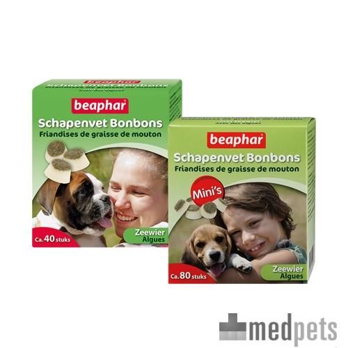 Product afbeelding van Beaphar Schapenvet Bonbons