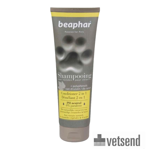 Beaphar Premium Shampoo 2-In-1 for Long Hair