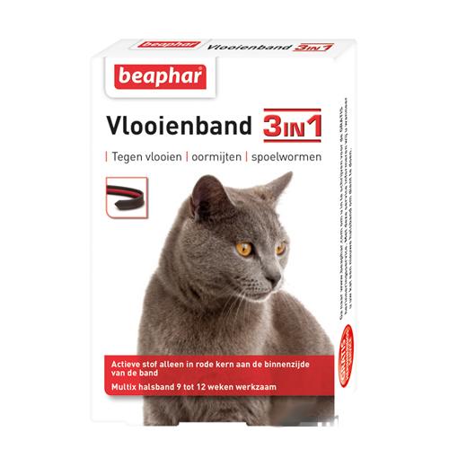 Beaphar Vlooienband 3-in-1 Multi-X Kat