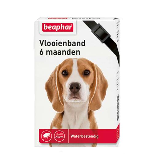 Beaphar Vlooienband Hond - 6 maanden