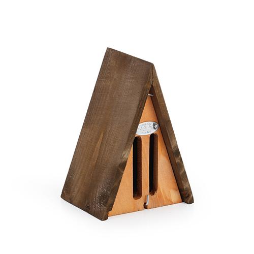 Beeztees Schmetterlingshotel Dreieck aus Holz