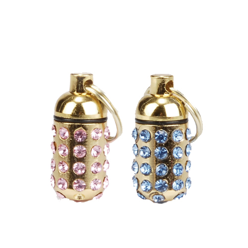 Beeztees Luxo Address Tube with Strass
