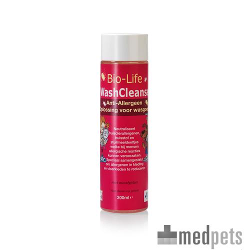 Bio-Life WashCleanse - Produit de Nettoyage Anti-Allergènes