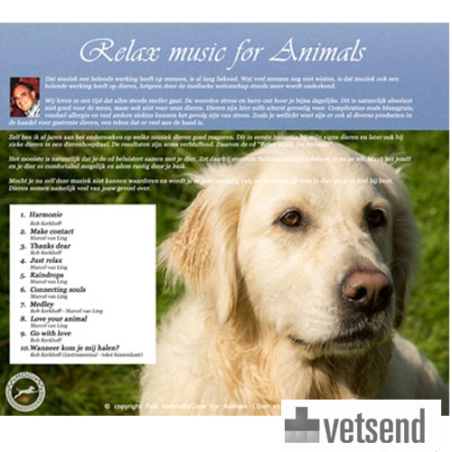 Product image CD Relaxing Music for Animals (and Humans)