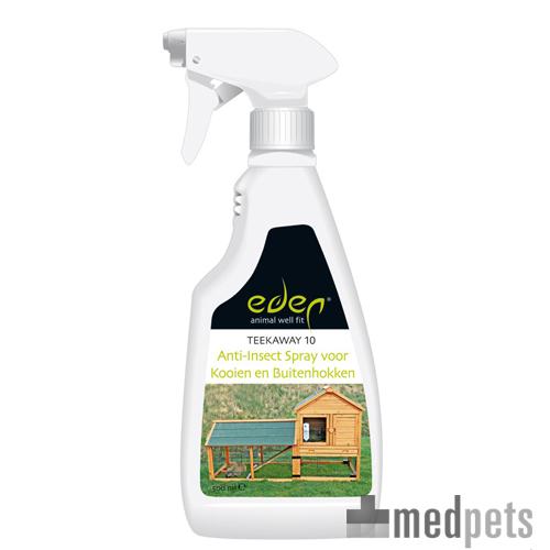 Eden Anti-Insect Spray voor Kooien en Buitenhokken