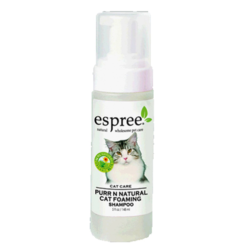 Espree Purr 'N Natural Foam Cat Shampoo