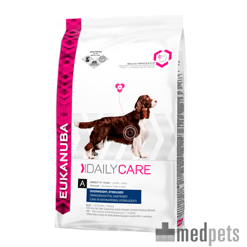 Eukanuba Overweight & Sterilised - Daily Care - Hond