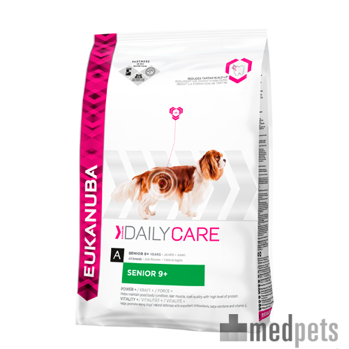 Eukanuba Senior 9+ - Daily Care - Hond