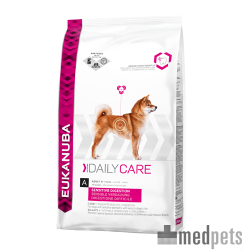Eukanuba Sensitive Digestion - Daily Care - Hund