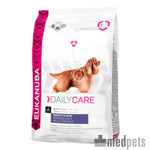 Eukanuba Sensitive Skin - Daily Care - Hund