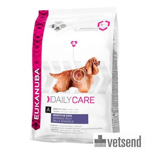 Eukanuba Sensitive Skin - Daily Care - Dog