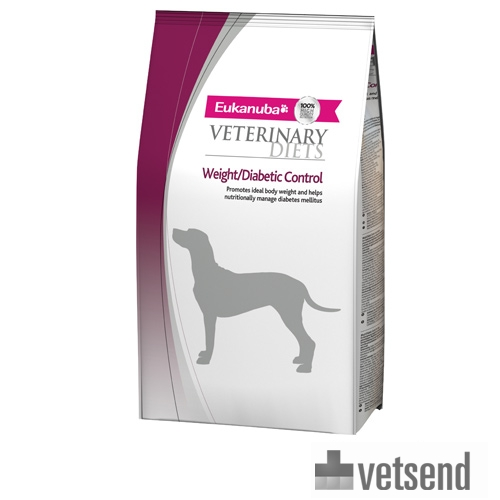 Eukanuba Weight Diabetic Control - Veterinary Diets - Dog