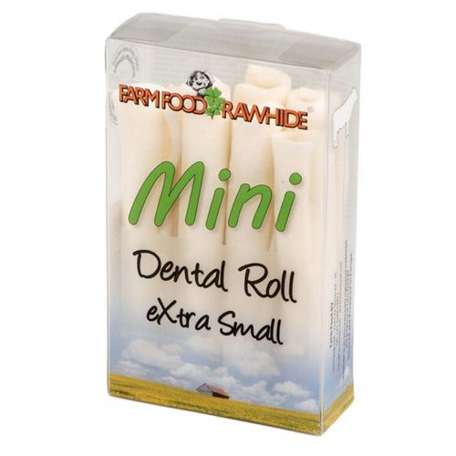 Farm Food Rawhide Dental Roll Mini XS
