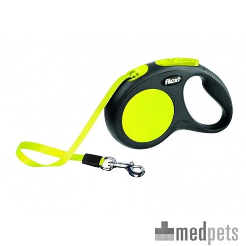 Product afbeelding van Flexi Rollijn Neon - Tape Leash
