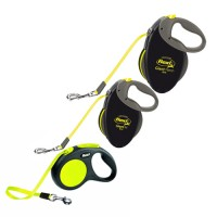 Flexi Retractable Neon - Tape Leash