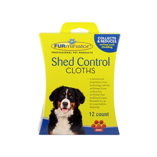 FURminator Dog Shed Control Cloths