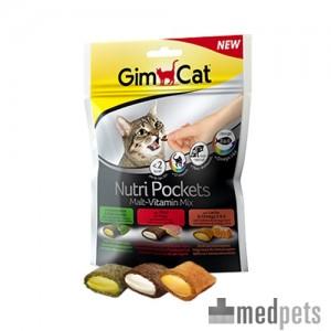 Product afbeelding van GimCat Nutri Pockets Malt - Vitamin Mix