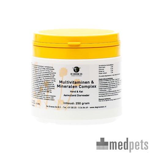 Product afbeelding van Groene Os Multivitaminen en Mineralen Complex - Hond/Kat