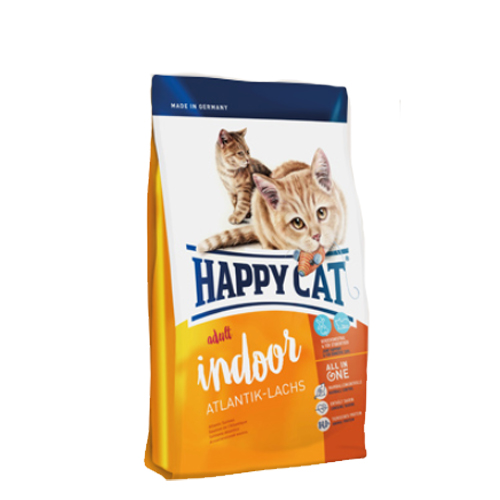 Happy Cat - Adult Indoor Atlantik-Lachs
