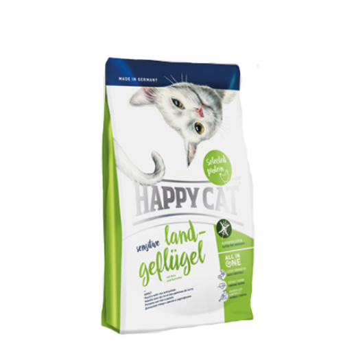 Happy Cat - Sensitive Grainfree Land-Geflügel (Gevogelte)