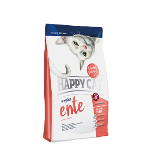 Happy Cat - Sensitive Grainfree Ente (Eend)
