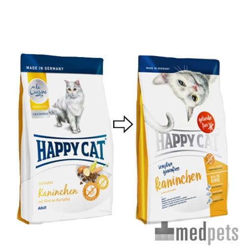 Product afbeelding van Happy Cat - Sensitive Grainfree Kaninchen (Konijn)