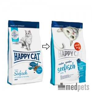 Product afbeelding van Happy Cat - Sensitive Grainfree Seefisch (Zeevis)
