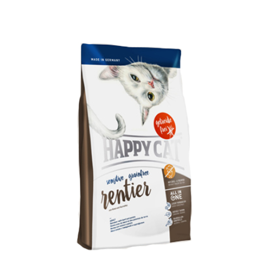 Happy Cat - Sensitive Grainfree Rentier