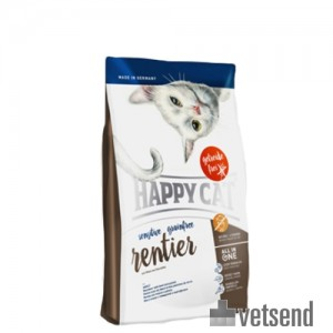 happy cat sensitive grain free reindeer cat food