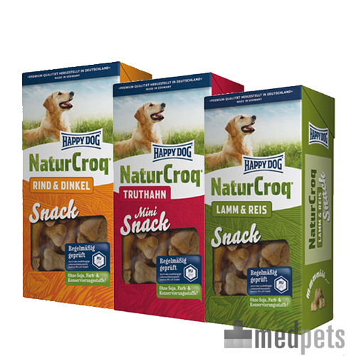 Happy Dog NaturCroq Snacks