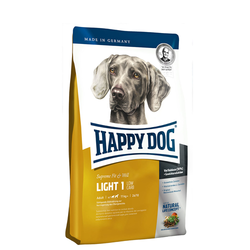 Happy Dog Supreme - Fit & Well Light 1 - Low Carb