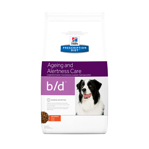 Hill's b/d Ageing & Alertness - Prescription Diet - Canine