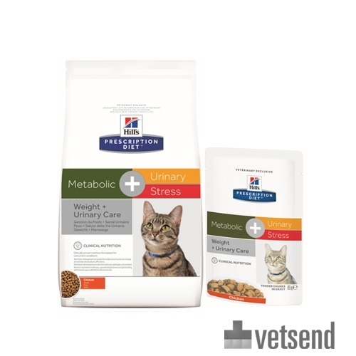 Hill S Metabolic Urinary Stress Feline Prescription Diet