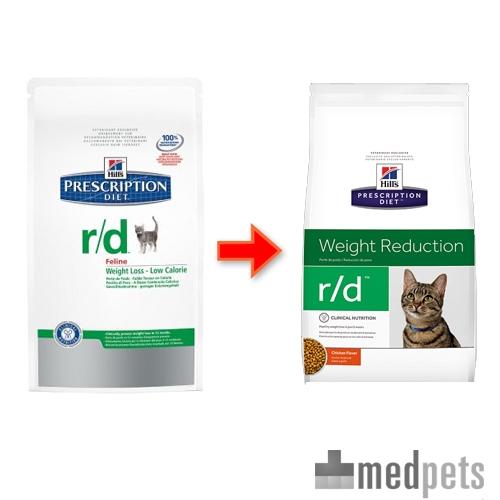 Image du produit Hill's r/d Weight Reduction - Prescription Diet - Feline