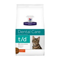 Hill's t/d - Dental Care - Prescription Diet - Feline