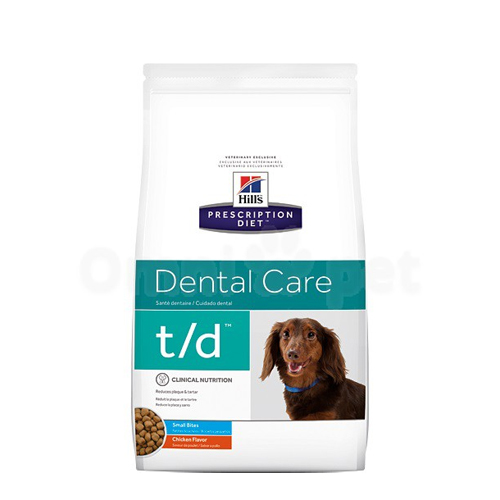 Hill's t/d Mini Dental Care - Prescription Diet - Canine