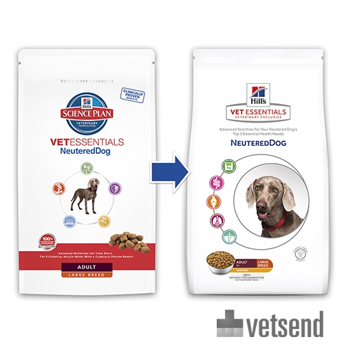 Hill S Vetessentials Neutered Dog Adult Order