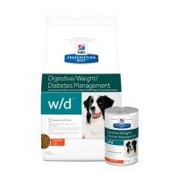 Hill's w/d Low Fat / Diabetic / Gastrointestinal - Prescription Diet - Canine