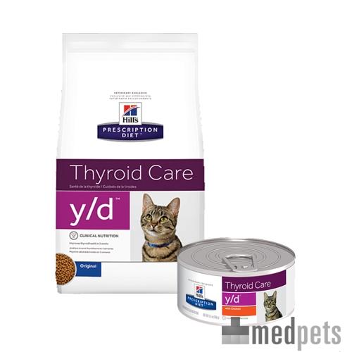 hill 39 s y d thyroid care feline croquettes chat. Black Bedroom Furniture Sets. Home Design Ideas
