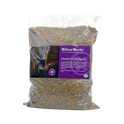 Hilton Herbs Cleavers & Marigold Complément Naturel Chevaux