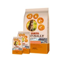IAMS Naturally Cat - Salmon & Rice