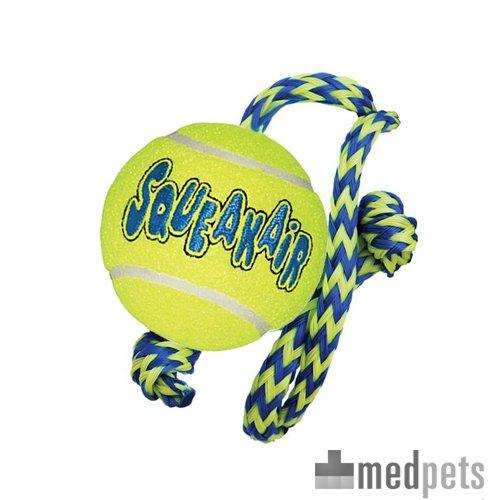 Product afbeelding van KONG AirDog Squeakair Ball With Rope