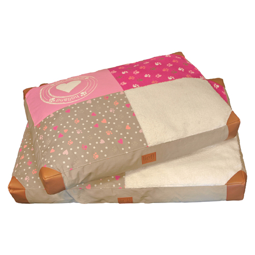 lief! Girls Loungekussen Patchwork