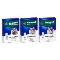 Mansonil All Worm for Cats
