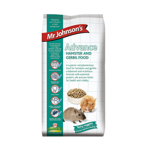 Mr Johnson's Advance Hamster und Rennmausfutter
